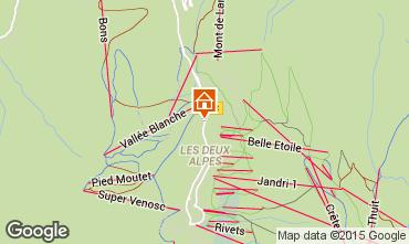 Mapa Les 2 Alpes Apartamento 85753