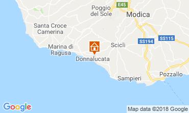Mapa Donnalucata Apartamento 88164