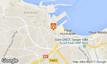 Mapa Tánger Apartamento 40332