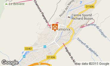 Mapa Chamonix Mont-Blanc Apartamento 669