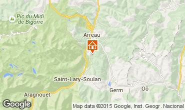 Mapa Saint Lary Soulan Casa 17916