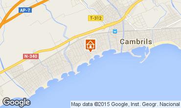 Mapa Cambrils Apartamento 9716