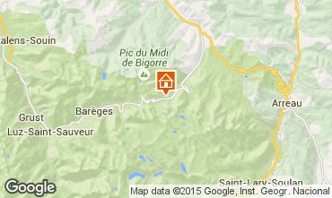 Mapa La Mongie Apartamento 59557