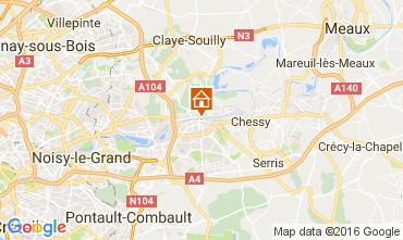 Mapa Marne la Vallée Apartamento 106894