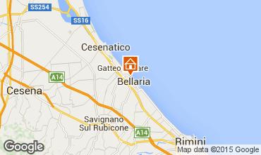 Mapa Bellaria Igea Marina Apartamento 81740