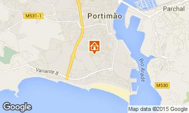 Mapa Praia da Rocha Apartamento 75306