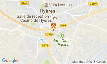 Mapa Hyères Estudio 109105