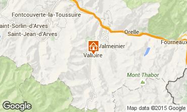 Mapa Valloire Apartamento 3426