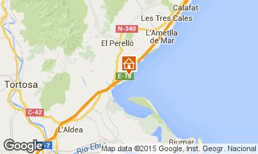 Mapa La Ampolla Villa 94907