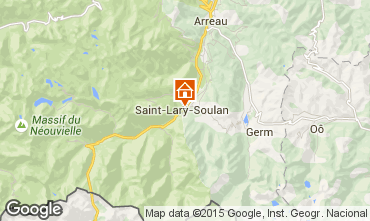 Mapa Saint Lary Soulan Apartamento 75741