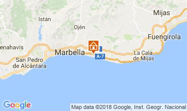 Mapa Marbella Apartamento 115766