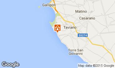 Mapa Gallipoli Casa 61492