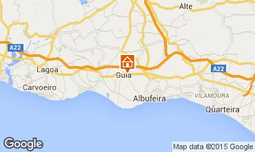 Mapa Albufeira Villa 82023