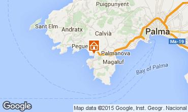 Mapa Santa Ponsa Apartamento 83594