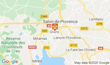 Mapa Salon de Provence Casa rural 12967