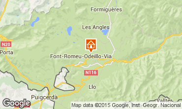 Mapa Bolqu�re Pyren�es 2000 Estudio 3983