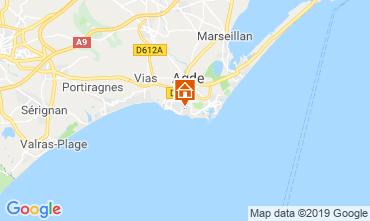 Mapa Agde Mobil home 117878