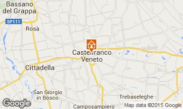 Mapa Castelfranco V�neto Apartamento 100865