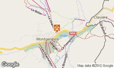 Mapa Montgenevre Apartamento 73627