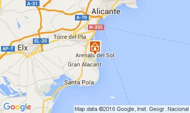 Mapa Alicante Apartamento 103509