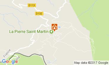 Mapa Arette La Pierre Saint Martin Estudio 66662
