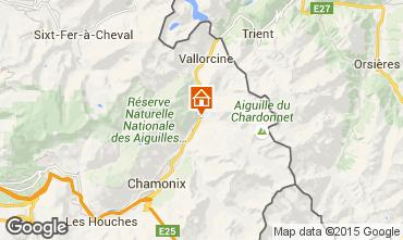 Mapa Argentière Apartamento 80794