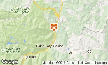 Mapa Saint Lary Soulan Casa 102631
