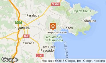Mapa Ampuriabrava Villa 60583