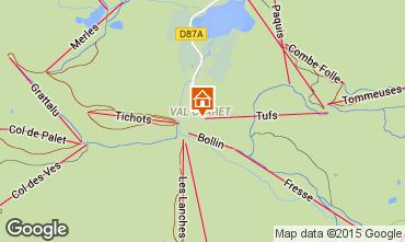 Mapa Tignes Estudio 65546