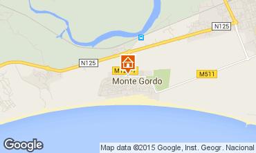 Mapa Monte Gordo Apartamento 83166