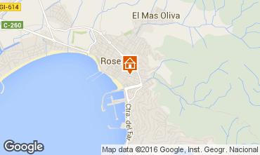 Mapa Rosas Apartamento 102467
