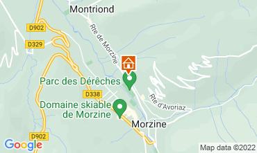 Mapa Morzine Chalet 76329