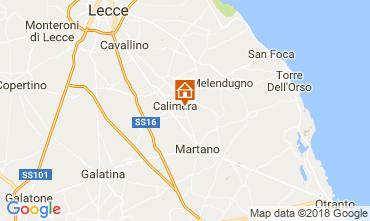 Mapa Martano Apartamento 87703