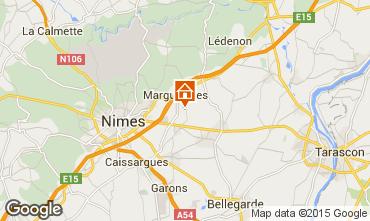 Mapa Nîmes Villa 75882