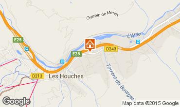 Mapa Les Houches Apartamento 1399
