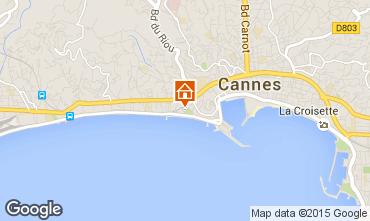 Mapa Cannes Apartamento 66651