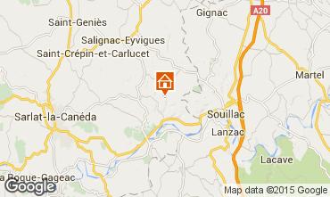 Mapa Sarlat Casa rural 90820