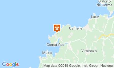 Mapa A Coruña Casa rural 76094