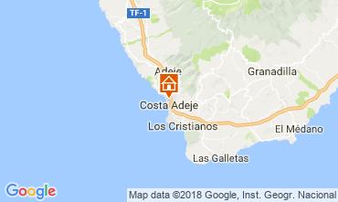 Mapa Playa de las Américas Apartamento 113485