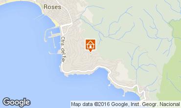 Mapa Rosas Apartamento 76247