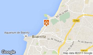 Mapa Biarritz Apartamento 89930