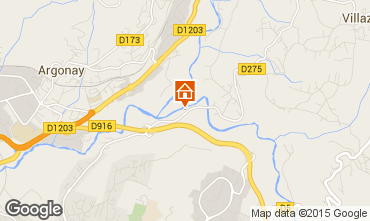 Mapa Annecy Estudio 97456