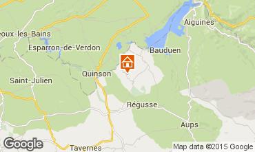 Mapa Artignosc-sur-Verdon Casa 65147