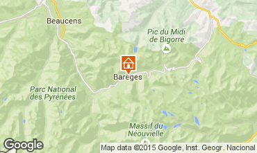 Mapa Barèges Apartamento 73837