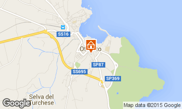 Mapa Otranto Apartamento 101123
