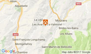 Mapa Valmorel Apartamento 111312