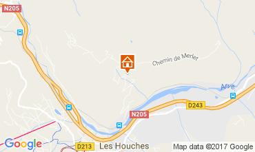 Mapa Chamonix Mont-Blanc Apartamento 107394
