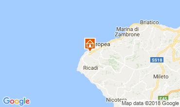 Mapa Tropea Apartamento 113235