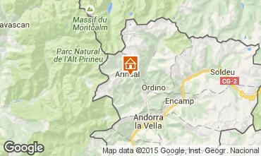 Mapa Pal-Arinsal Casa rural 69595