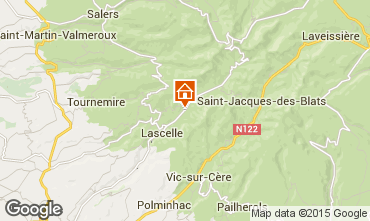 Mapa Le Lioran Casa 3846